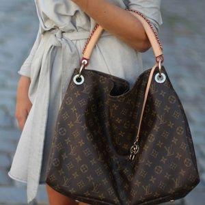 Auth Louis Vuitton Artsy Mm Shoulder Bag #2137L90